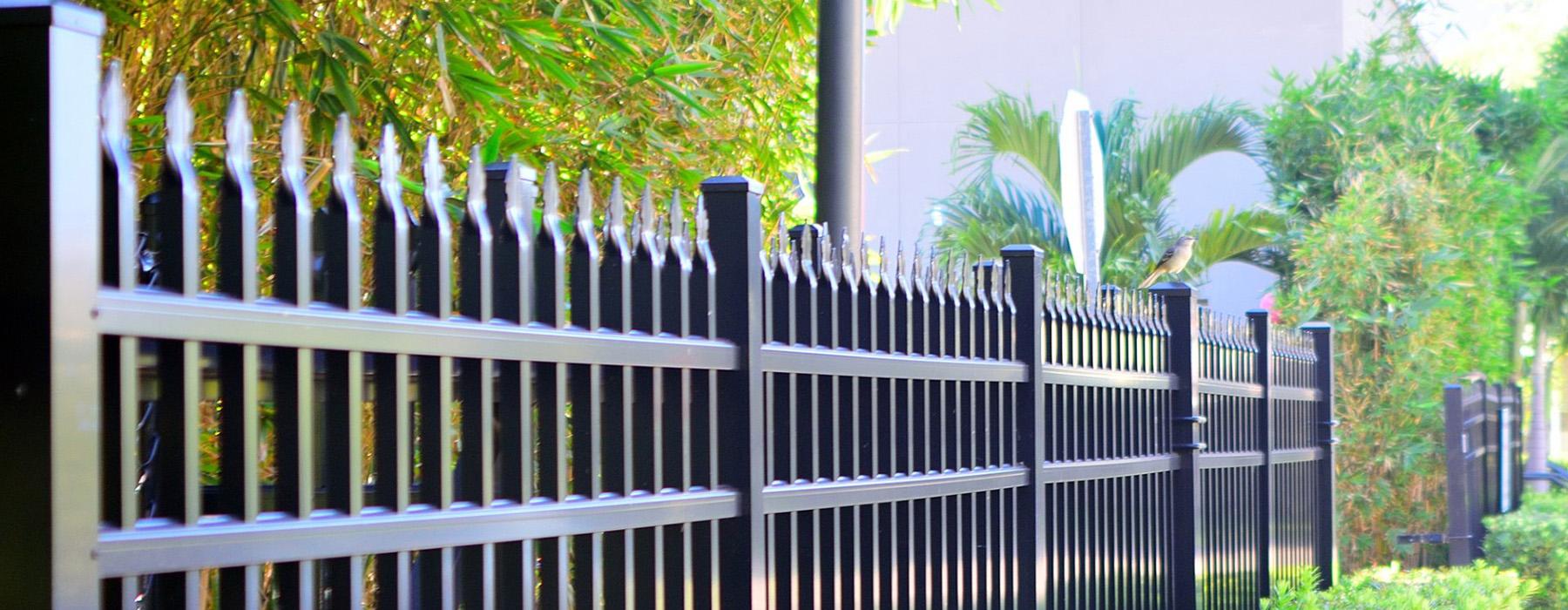 Acura Developments wrought iron fences